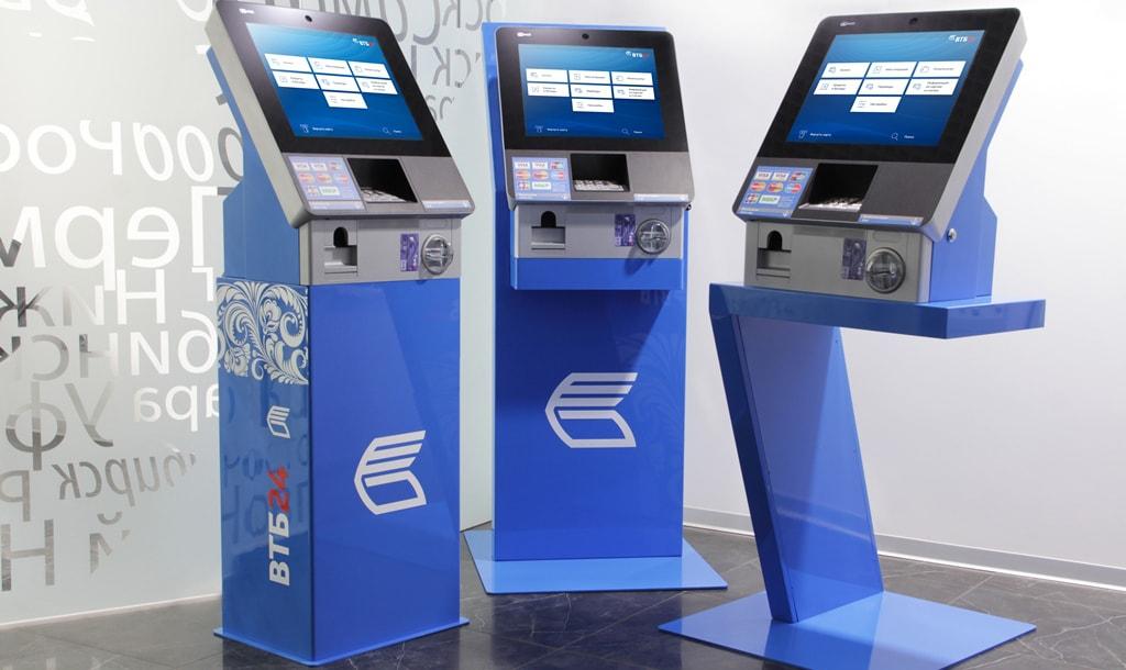 Инновационные терминалы в офисах ВТБ