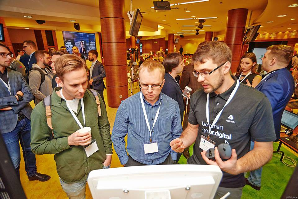 Конференция Addreality - Тачплат
