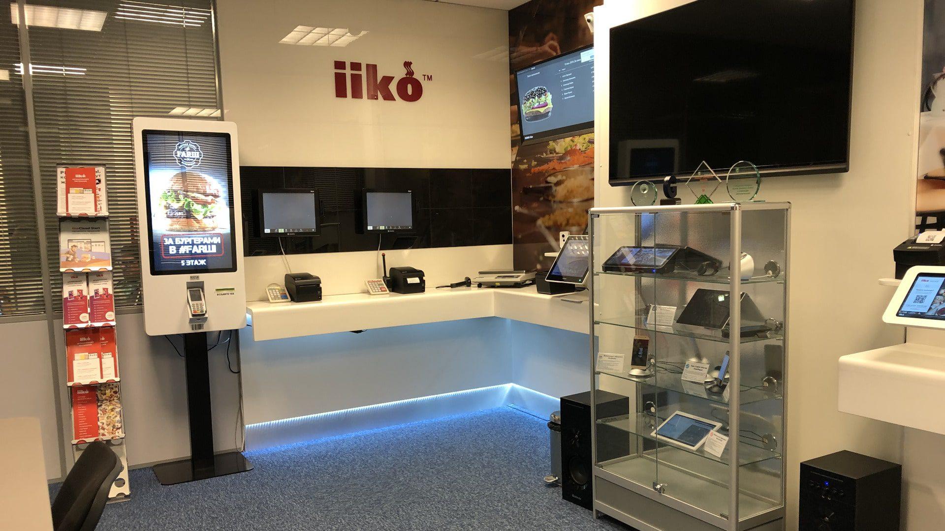 Киоски самообслуживания Q-60 для работы iiko