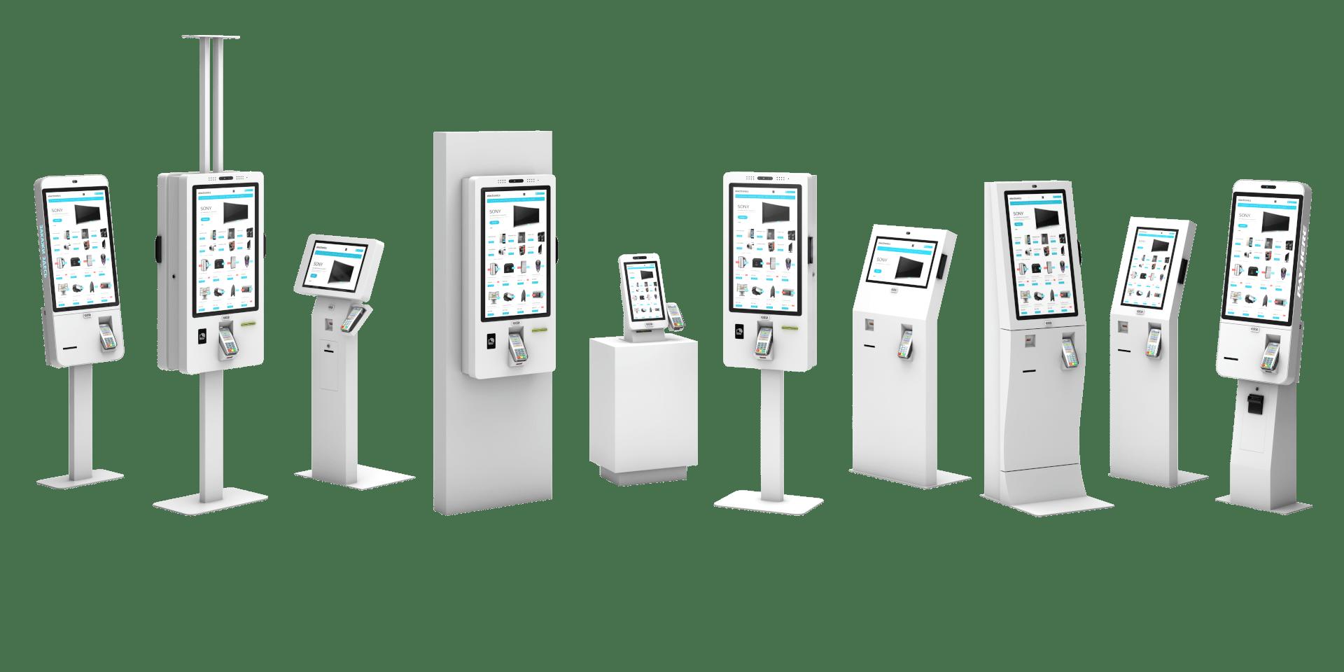 Сенсорные киоски и терминалы самообслуживания Тачплат