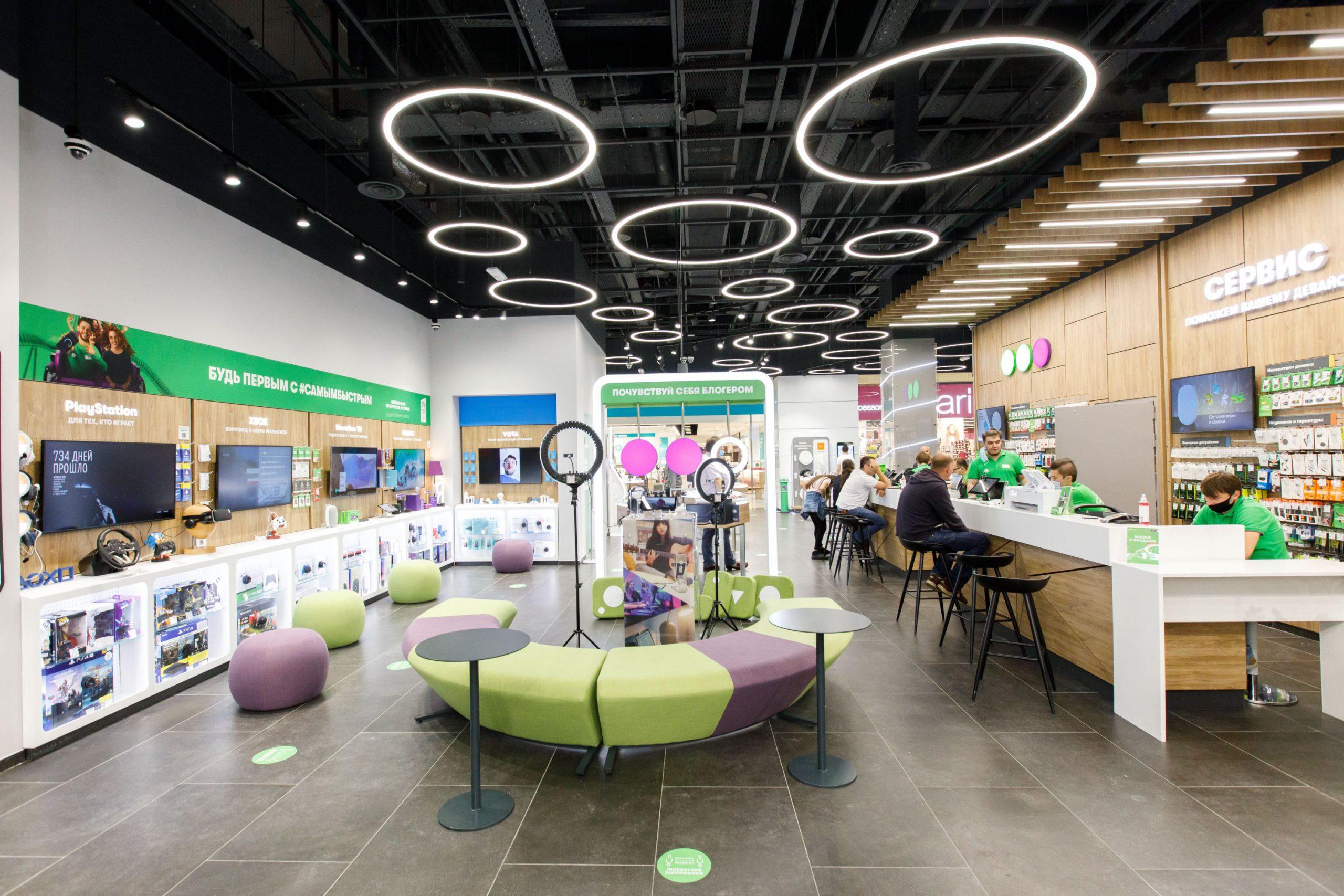 Салон Experience Store МегаФон