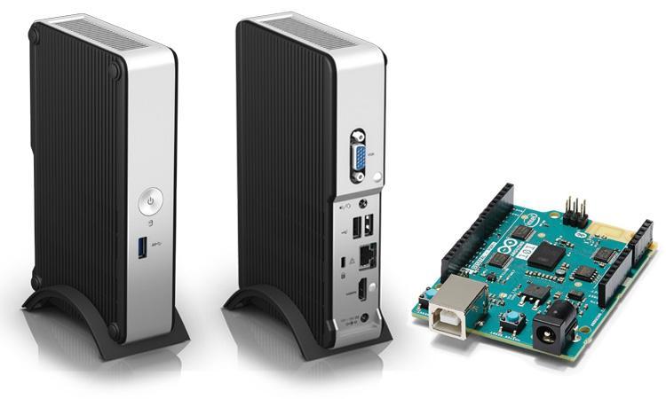 Модульные компьютеры Intel NUC на Retail TECH