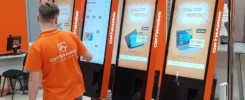 Киоски самообслуживания Тачплат в магазинах Ситилинк