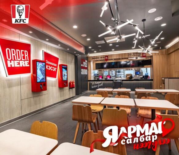 Терминалы самообслуживания ТАЧПЛАТ в ресторанах KFC в Монголии